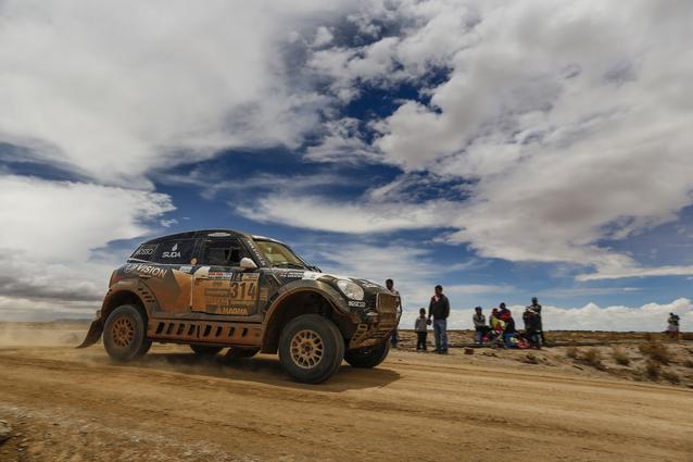 2017 Dakar, Boris Garafulic (CHL), Filipe Palmeiro (POR), MINI ALL4 Racing - X-raid Team 314 - 06.01.2017
