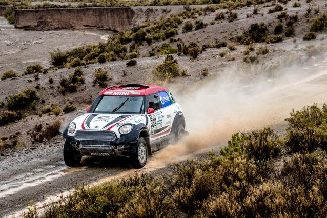 2017 Dakar, Sylvio de Barros (BR), Rafael Capoani (BR), MINI ALL4 Racing - X-raid Team 339 - 06.01.2017