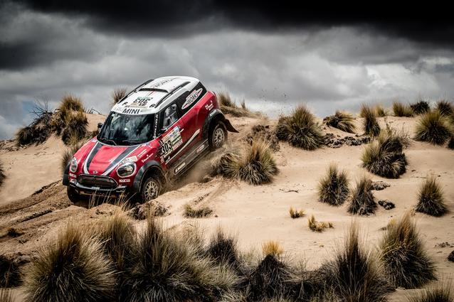 2017 Dakar, Mikko Hirvonen (FIN), Michel Perin (FRA), MINI John Cooper Works Rally - X-raid Team 303 - 09.01.2017