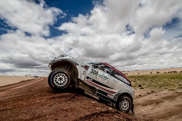 2017 Dakar, Orlando Terranova (ARG), Andreas Schulz (GER), MINI John Cooper Works Rally - X-raid Team 308 - 09.01.2017