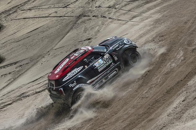 2017 Dakar, Yazeed Al-Rajhi (KSA), Timo Gottschalk (GER), MINI John Cooper Works Rally - X-raid Team 306 - 09.01.17