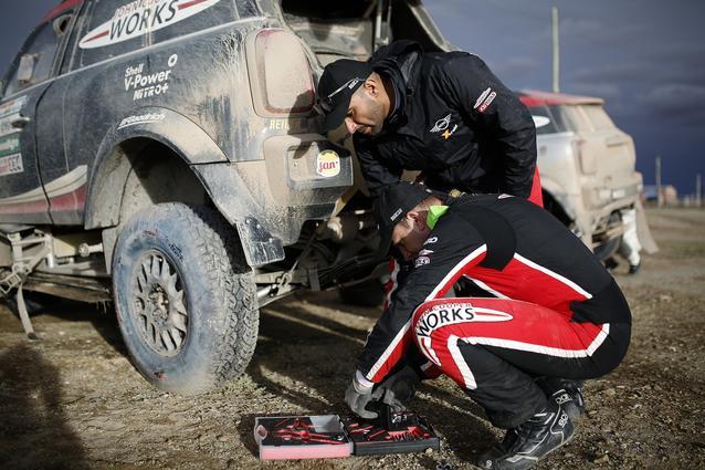2017 Dakar, Yazeed Al-Rajhi (KSA), Timo Gottschalk (GER), MINI John Cooper Works Rally - X-raid Team 306 - 09.01.2017