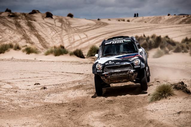 2017 Dakar, Boris Garafulic (CHL), Filipe Palmeiro (POR), MINI ALL4 Racing - X-raid Team 314 - 09.01.2017