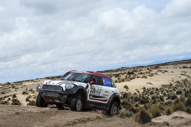 2017 Dakar, Sylvio de Barros (BR), Rafael Capoani (BR), MINI ALL4 Racing - X-raid Team 339 - 09.01.2017