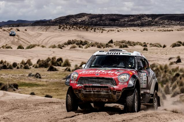 2017 Dakar, Stephan Schott (GER), Paulo Fiuza (POR), MINI ALL4 Racing - X-raid Team 325 - 09.01.2017