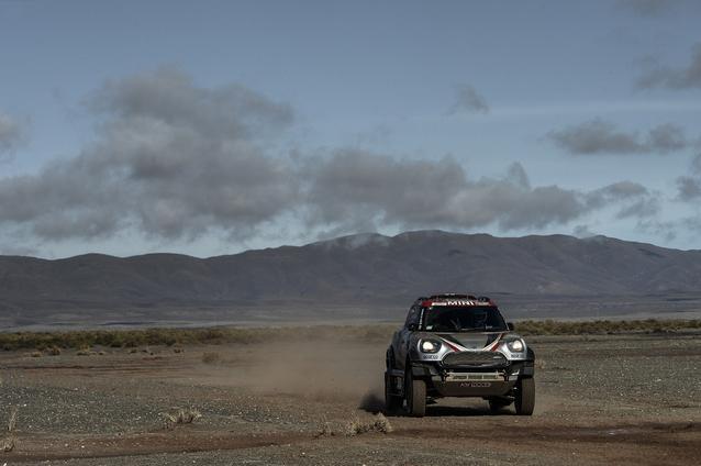 2017 Dakar, Orlando Terranova (ARG), Andreas Schulz (GER), MINI John Cooper Works Rally - X-raid Team 308 - 10.01.2017