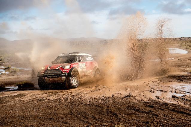 2017 Dakar, Mikko Hirvonen (FIN), Michel Perin (FRA), MINI John Cooper Works Rally - X-raid Team 303 - 10.01.2017