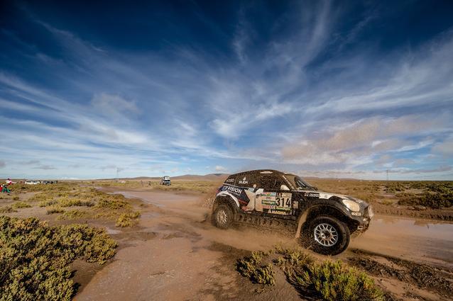 2017 Dakar, Boris Garafulic (CHL), Filipe Palmeiro (POR), MINI ALL4 Racing - X-raid Team 314 - 10.01.2017