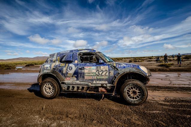 2017 Dakar, Mohamed Abu Issa (QAT), Xavier Panseri (FRA), MINI ALL4 Racing - X-raid Team 322 - 10.01.2017