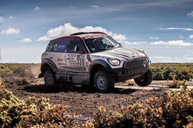 2017 Dakar, Sylvio de Barros (BR), Rafael Capoani (BR), MINI ALL4 Racing - X-raid Team 339 - 10.01.2017