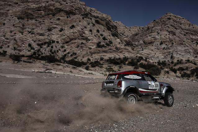 2017 Dakar, Orlando Terranova (ARG), Andreas Schulz (GER), MINI John Cooper Works Rally - X-raid Team 308 - 12.01.2017