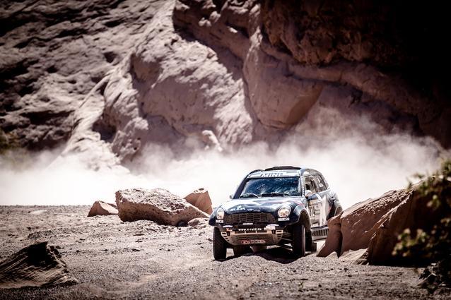 2017 Dakar, Boris Garafulic (CHL), Filipe Palmeiro (POR), MINI ALL4 Racing - X-raid Team 314 - 12.01.2017