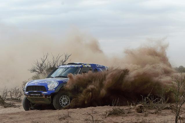2017 Dakar, Mohamed Abu Issa (QAT), Xavier Panseri (FRA), MINI ALL4 Racing - X-raid Team 322 - 12.01.2017