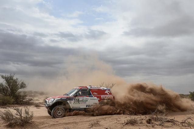 2017 Dakar, Jakub Przygonski (POL), Tom Colsoul (BEL), MINI ALL4 Racing - ORLEN Team 316 - 12.01.2017