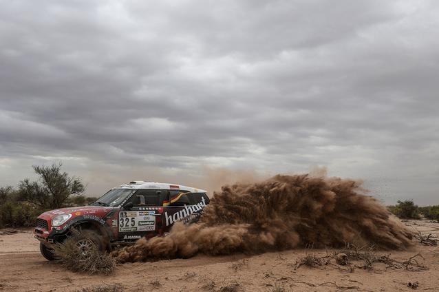 2017 Dakar, Stephan Schott (GER), Paulo Fiuza (POR), MINI ALL4 Racing - X-raid Team 325 - 12.01.2017