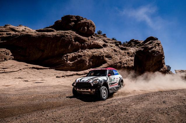 2017 Dakar, Sylvio de Barros (BR), Rafael Capoani (BR), MINI ALL4 Racing - X-raid Team 339 - 12.01.2017