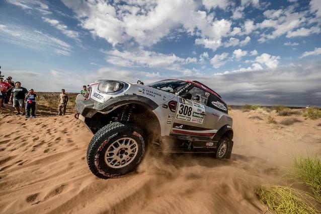 2017 Dakar, Orlando Terranova (ARG), Andreas Schulz (GER), MINI John Cooper Works Rally - X-raid Team 308 - 13.01.2017