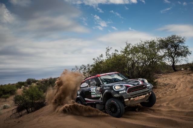 2017 Dakar, Yazeed Al-Rajhi (KSA), Timo Gottschalk (GER), MINI John Cooper Works Rally - X-raid Team 306 - 13.01.2017