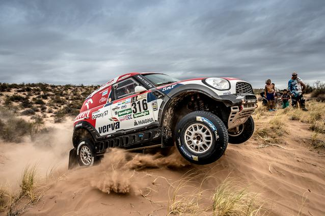 2017 Dakar, Jakub Przygonski (POL), Tom Colsoul (BEL), MINI ALL4 Racing - ORLEN Team 316 - 13.01.2017
