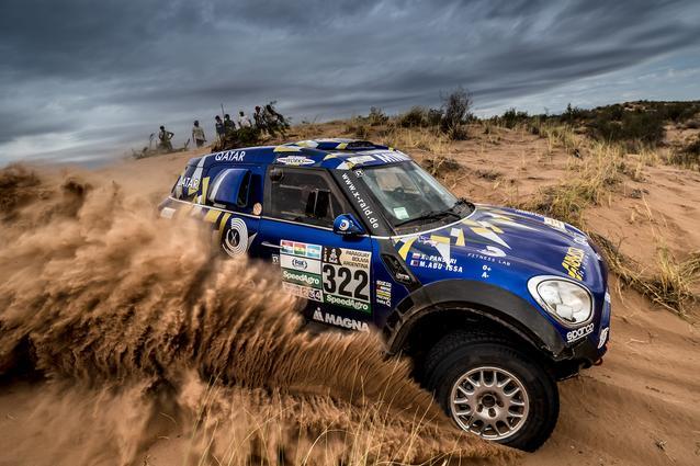 2017 Dakar, Mohamed Abu Issa (QAT), Xavier Panseri (FRA), MINI ALL4 Racing - X-raid Team 322 - 13.01.2017