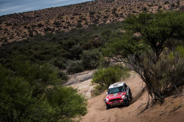 2017 Dakar, Stephan Schott (GER), Paulo Fiuza (POR), MINI ALL4 Racing - X-raid Team 325 - 13.01.2017