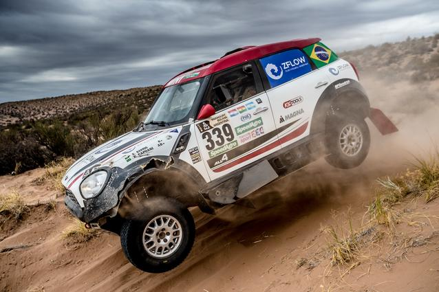 2017 Dakar, Sylvio de Barros (BR), Rafael Capoani (BR), MINI ALL4 Racing - X-raid Team 339 - 13.01.2017
