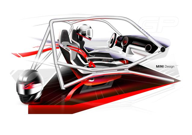 MINI John Cooper Works GP Concept- Design Sketches