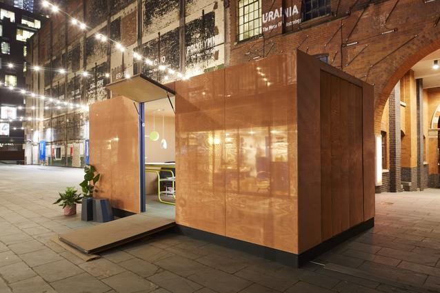 The MINI LIVING - URBAN CABIN is revealed today on the Southbank as part