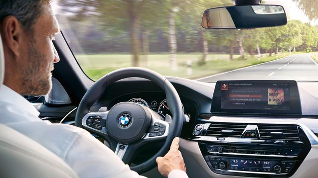 BMW and Alexa in-car. (09/2017)