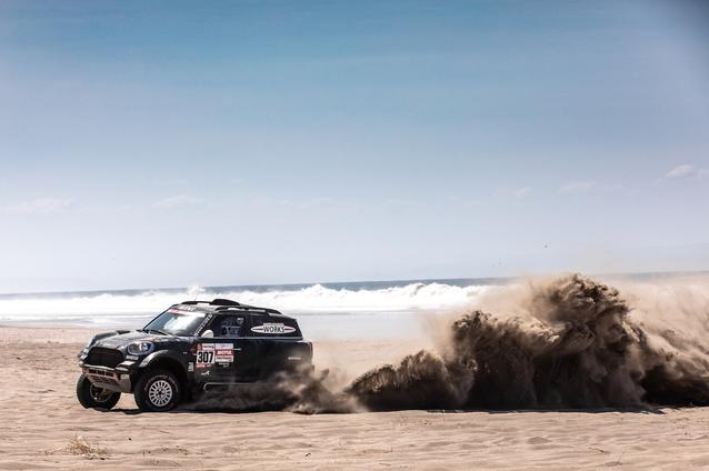 2019 Dakar, Stage 5, Nani Roma (ESP), Alex Haro ESP) - MINI John Cooper Works Rally - X-raid MINI John Cooper Works Rally Team, #307 - 11-01-2019