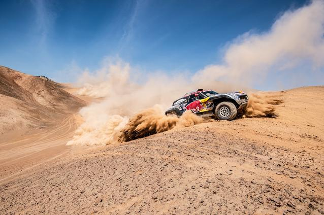 2019 Dakar, Stage 5, Cyril Despres (FRA), Jean Paul Cottret (FRA) - MINI John Cooper Works Buggy - X-raid MINI John Cooper Works Team, #308 - 11.01.2019