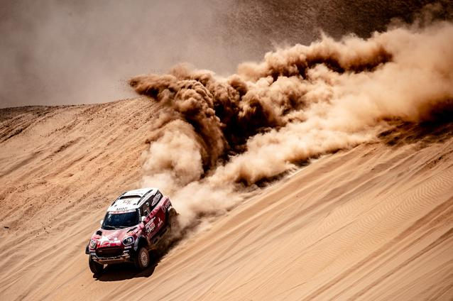 2019 Dakar Rally, Stage 5, Boris Garafulic (CHL), Filipe Palmeiro (POR) - MINI John Cooper Works Rally - X-raid MINI John Cooper Works Rally Team, #321 - 11.01.2019