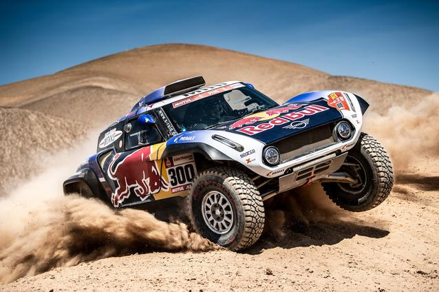 2019 Dakar, Stage 5, Carlos Sainz (ESP), Lucas Cruz (ESP) - MINI John Cooper Works Buggy - X-raid MINI John Cooper Works Team, #300 - 11.01.2019