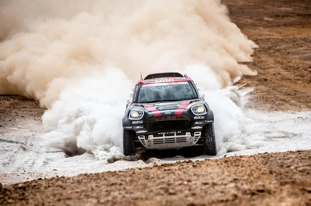 2019 Dakar, Stage 4, Yazeed Al Rajhi (KSA), Timo Gottschalk (DEU) - MINI John Cooper Works Rally - X-raid MINI John Cooper Works Rally Team, #314 - 10.01.2019
