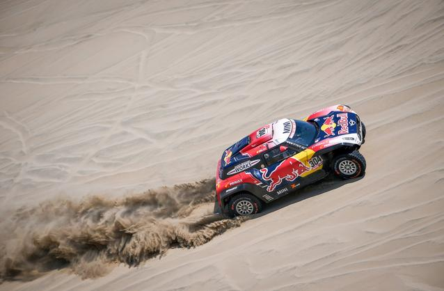 2019 Dakar, Stage 6, Nani Roma (ESP), Alex Haro ESP) - MINI John Cooper Works Rally - X-raid MINI John Cooper Works Rally Team, #307 - 13-01-2019