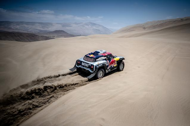 2019 Dakar, Stage 6, Cyril Despres (FRA), Jean Paul Cottret (FRA) - MINI John Cooper Works Buggy - X-raid MINI John Cooper Works Team, #308 - 13.01.2019
