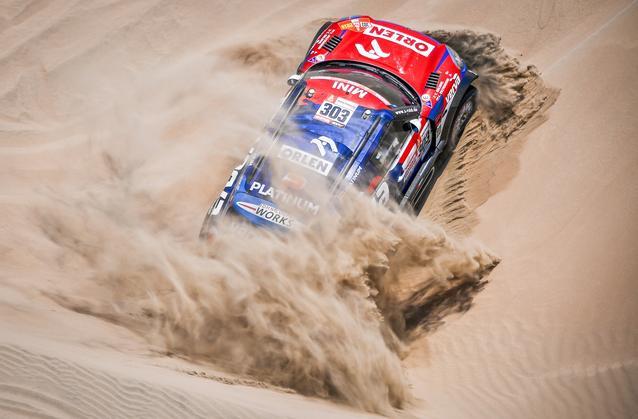 2019 Dakar, Stage 6, Jakub Przygonski (POL), Tom Colsoul (BEL) - MINI John Cooper Works Rally - Orlen X-raid Team, #303 - 13.01.2019