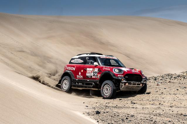2019 Dakar Rally, Stage 6, Boris Garafulic (CHL), Filipe Palmeiro (POR) - MINI John Cooper Works Rally - X-raid MINI John Cooper Works Rally Team, #321- 13.01.2019