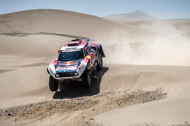 2019 Dakar, Stage 6, Stephane Peterhansel (FRA) , David Castera (FRA) - MINI John Cooper Works Buggy - X-raid MINI John Cooper Works Team, #304 - 13.01.2019