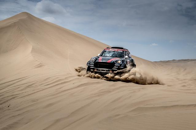 2019 Dakar, Stage 6, Yazeed Al Rajhi (KSA), Timo Gottschalk (DEU) - MINI John Cooper Works Rally - X-raid MINI John Cooper Works Rally Team, #314 - 13.01.2019