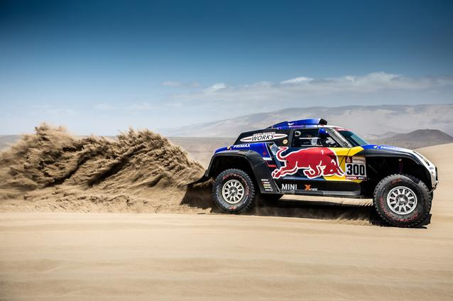2019 Dakar, Stage 6, Carlos Sainz (ESP), Lucas Cruz (ESP) - MINI John Cooper Works Buggy - X-raid MINI John Cooper Works Team, #300 - 13.01.2019
