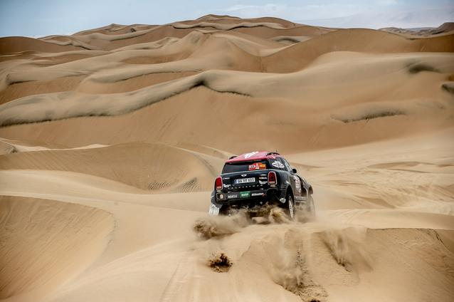 2019 Dakar, Stage 8, Yazeed Al Rajhi (KSA), Timo Gottschalk (DEU) - MINI John Cooper Works Rally - X-raid MINI John Cooper Works Rally Team, #314 - 15.01.2019