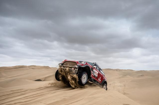2019 Dakar Rally, Stage 8, Boris Garafulic (CHL), Filipe Palmeiro (POR) - MINI John Cooper Works Rally - X-raid MINI John Cooper Works Rally Team, #321- 15.01.2019