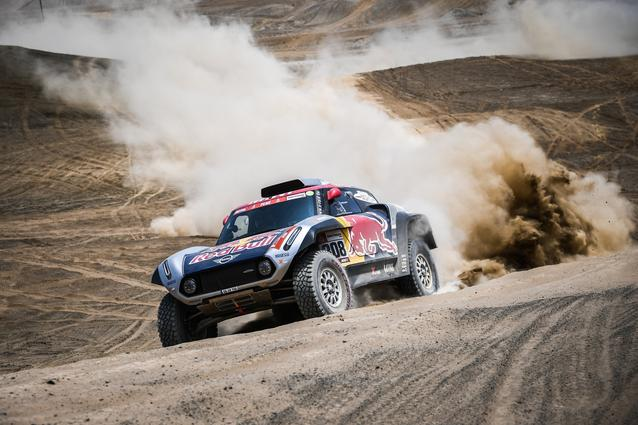 2019 Dakar, shakedown, Cyril Despres (FRA), Jean Paul Cottret (FRA) - MINI John Cooper Works Buggy - X-raid MINI John Cooper Works Team, #308 - 04.01.2019