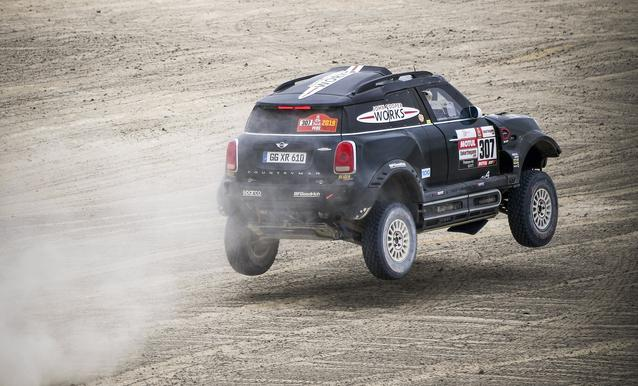 2019 Dakar, Stage 8, Nani Roma (ESP), Alex Haro ESP) - MINI John Cooper Works Rally - X-raid MINI John Cooper Works Rally Team, #307 - 15-01-2019