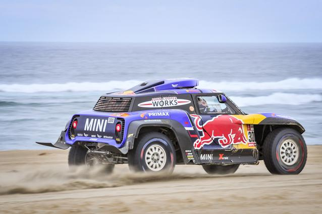 2019 Dakar, Stage 8, Carlos Sainz (ESP), Lucas Cruz (ESP) - MINI John Cooper Works Buggy - X-raid MINI John Cooper Works Team, #300 - 15.01.2019