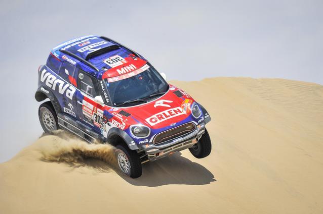 2019 Dakar, Stage 9, Jakub Przygonski (POL), Tom Colsoul (BEL) - MINI John Cooper Works Rally - Orlen X-raid Team, #303 - 16.01.2019