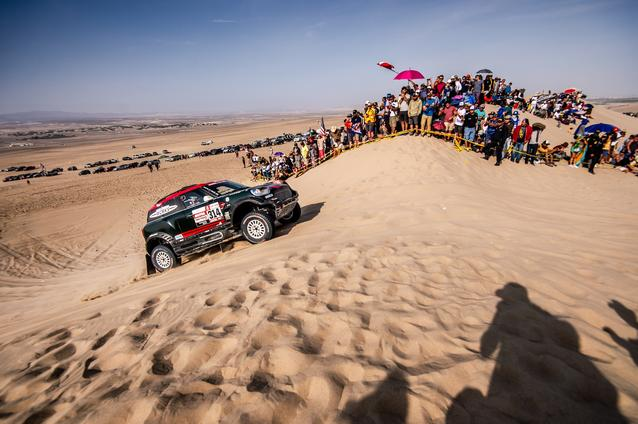 2019 Dakar, Stage 10, Yazeed Al Rajhi (KSA), Timo Gottschalk (DEU) - MINI John Cooper Works Rally - X-raid MINI John Cooper Works Rally Team, #314 - 17.01.2019