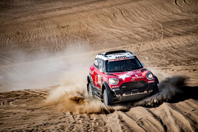 2019 Dakar Rally, Stage 10, Boris Garafulic (CHL), Filipe Palmeiro (POR) - MINI John Cooper Works Rally - X-raid MINI John Cooper Works Rally Team, #321- 17.01.2019