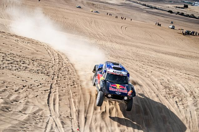 2019 Dakar, Stage 10, Carlos Sainz (ESP), Lucas Cruz (ESP) - MINI John Cooper Works Buggy - X-raid MINI John Cooper Works Team, #300 - 17.01.2019